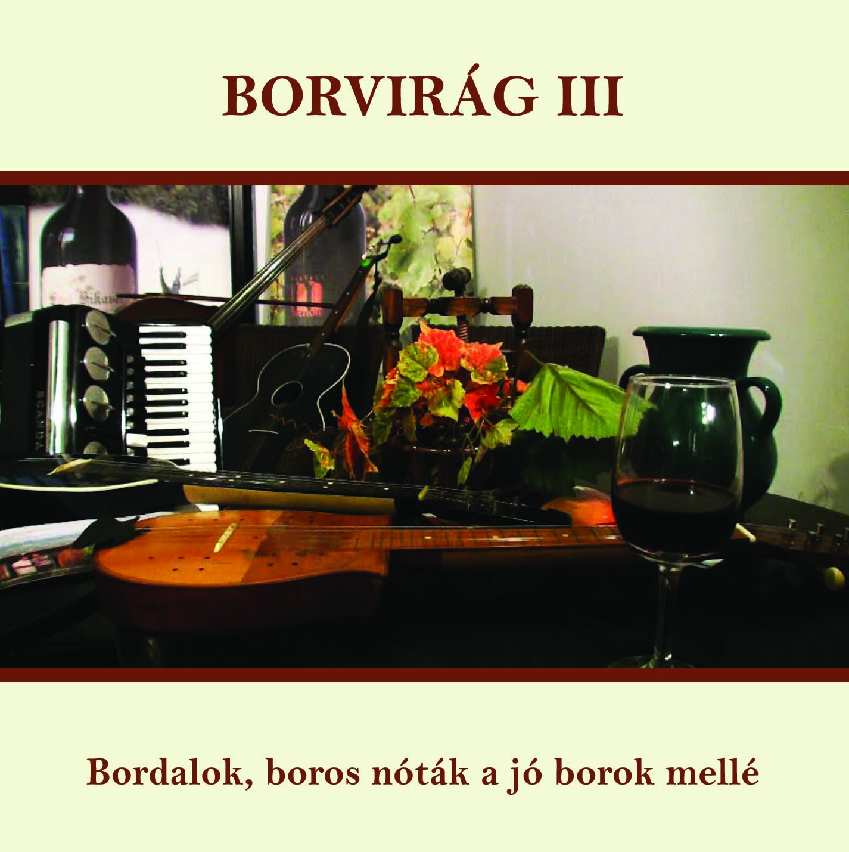 Borvirág III. borító